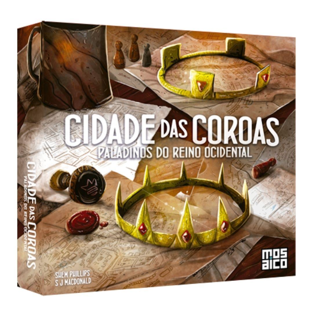 CIDADE DAS COROAS EXP. PALADINS DO REINO OCIDENTAL