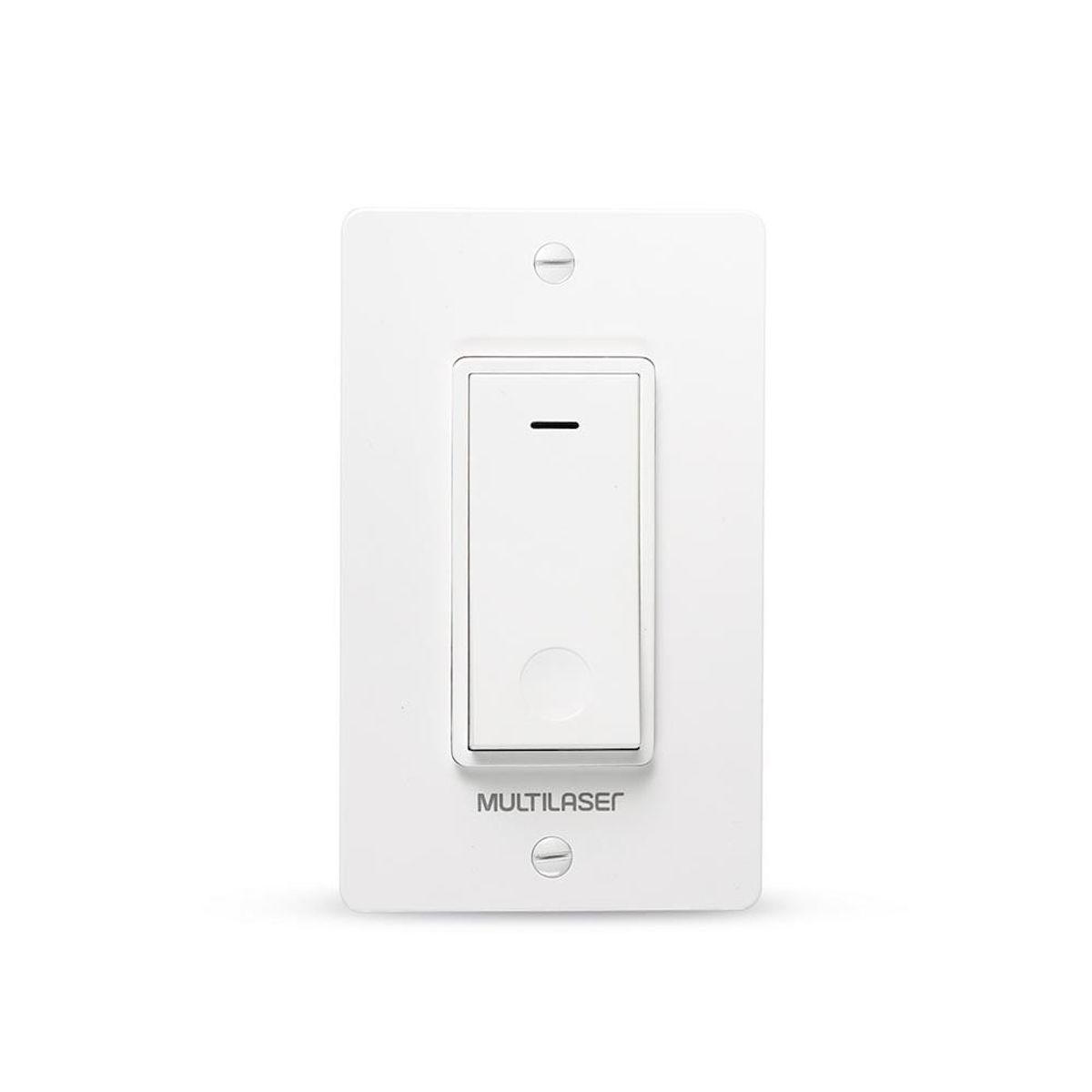 Interruptor Inteligente 1 Tecla Wi-Fi Liv - SE235 - Multilaser