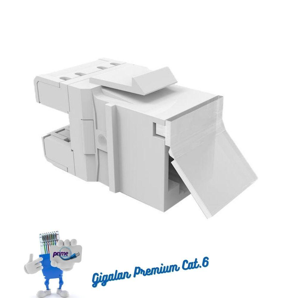 Conector Keystone RJ45 Cat.6 Gigalan Premium Furukawa
