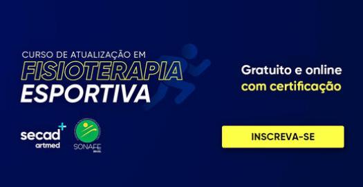 CURSO DE ATUALIZAÇÃO EM FISIOTERAPIA  ESPORTIVA