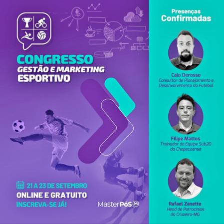 CONGRESSO GESTÃO E MARKETING ESPORTIVO