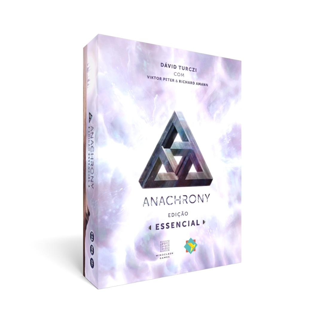 ANACHRONY EDIÇÃO ESSENCIAL + SLEEVES PRE VENDA