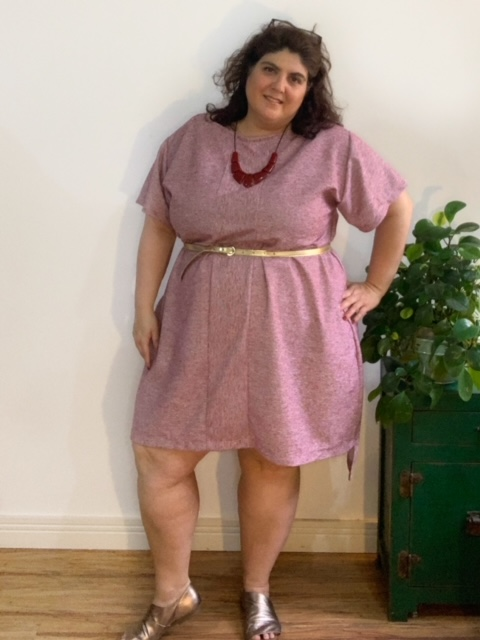 Vestido Alecrim Bordô